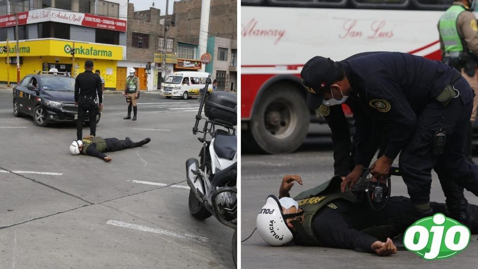 Accidente en el Metropolitano
