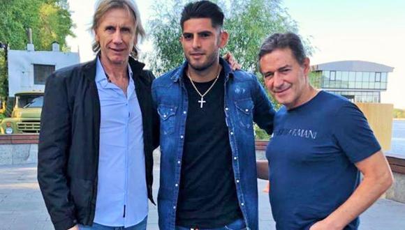 Carlos Zambrano dejó una buena impresión en RIcardo Gareca. (Foto: Selección Peruana)