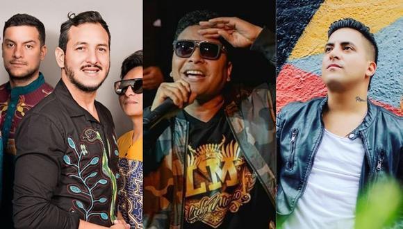 """Tommy Portugal, Bareto y Licky Moreno se unen para lanzar """"Yo uso mascarilla y salvo vidas"""". (Foto: Facebook)"""