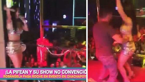 Rosángela Espinoza anima en discoteca pero el público la pifeó durante todo el show | VÍDEO