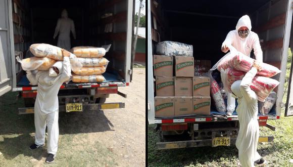 San Martín: Envían más de 35 toneladas de alimentos para 1699 ciudadanos de comunidades indígenas (Foto: Qali Warma)