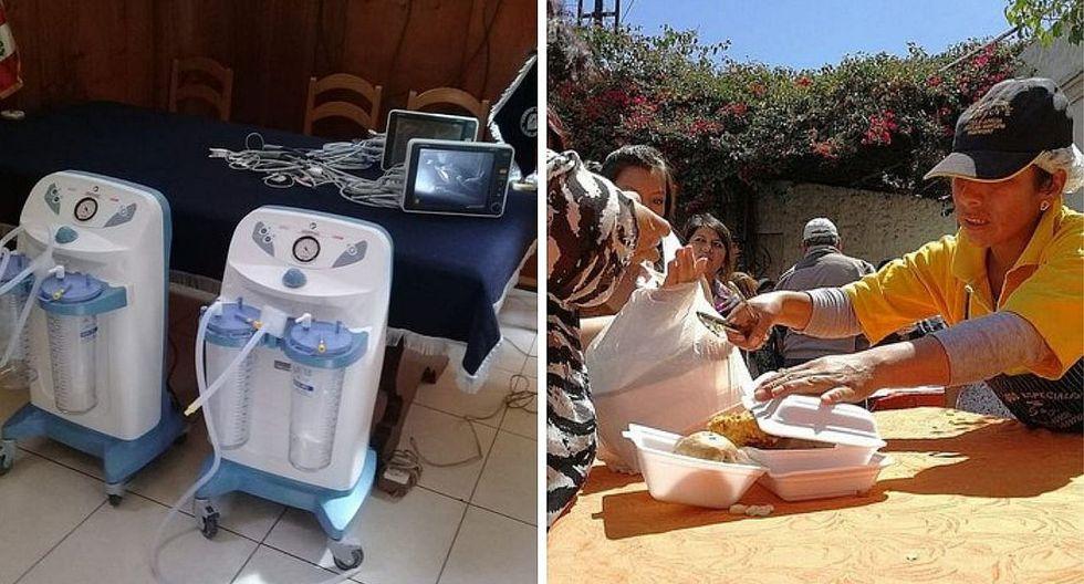 Arequipa: estas son las máquinas que compraron los médicos que realizaron una pollada profondos