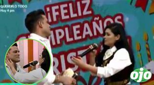 Pamela Franco sorprende cantándole con mariachis a Christian Domínguez por su cumpleaños | VIDEO