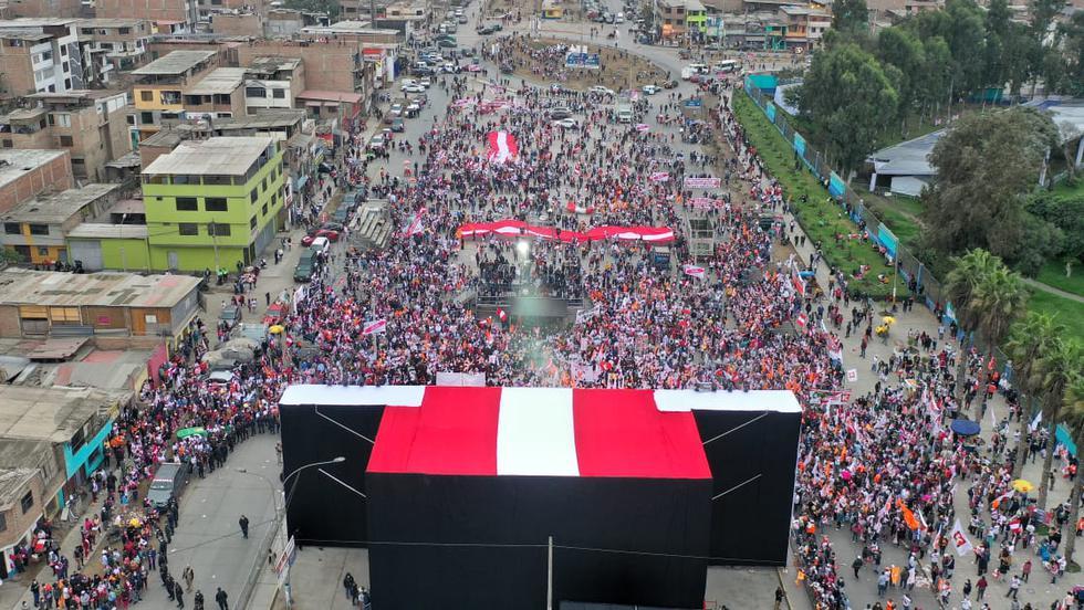 Esta es la tercera campaña presidencial de Keiko Fujimori. En las dos ocasiones previas perdió la segunda vuelta contra Ollanta Humala y contra Pedro Pablo Kuczynski. (Foto: Giancarlo Avila / @photo.gec)