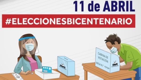 La ONPE designó a 518.928 miembros de mesa. Asimismo, informó que un total de 25.287.954 ciudadanos peruanos están habilitados para votar (Foto: ONPE)