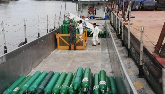 Loreto: entregan planta de oxígeno que producirá 40 balones diarios para pacientes COVID-19 (Foto: Gore Loreto)