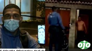 Repartidor de delivery venezolano denuncia que vecino de San Isidro quiso atacarlo con arma de fuego