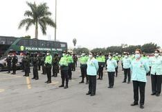 COVID-19: reconocen a héroes de la PNP por su labor en la primera línea