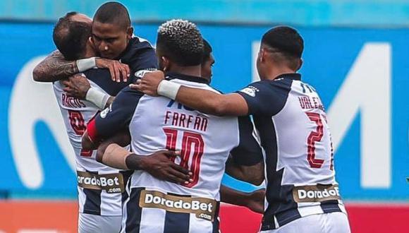 Alianza Lima aseguró su cupo para la Copa Libertadores tras vencer a Melgar. (Foto: Alianza Lima)