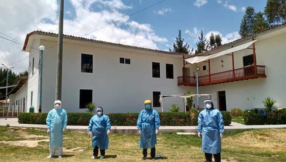 Hoteles de Huancayo sirven como albergue para quienes vencieron el COVID-19 (Foto: Diresa Junín).