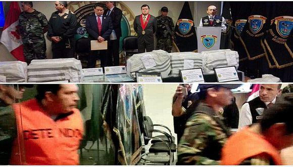 ¡Media tonelada! Cae banda que escondió droga en camioneta con chatarra en Sullana (VIDEO)