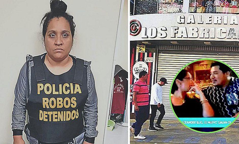 Capturan a mujer que robó S/ 1 millón a Alexander Blas, ex de Karla Tarazona