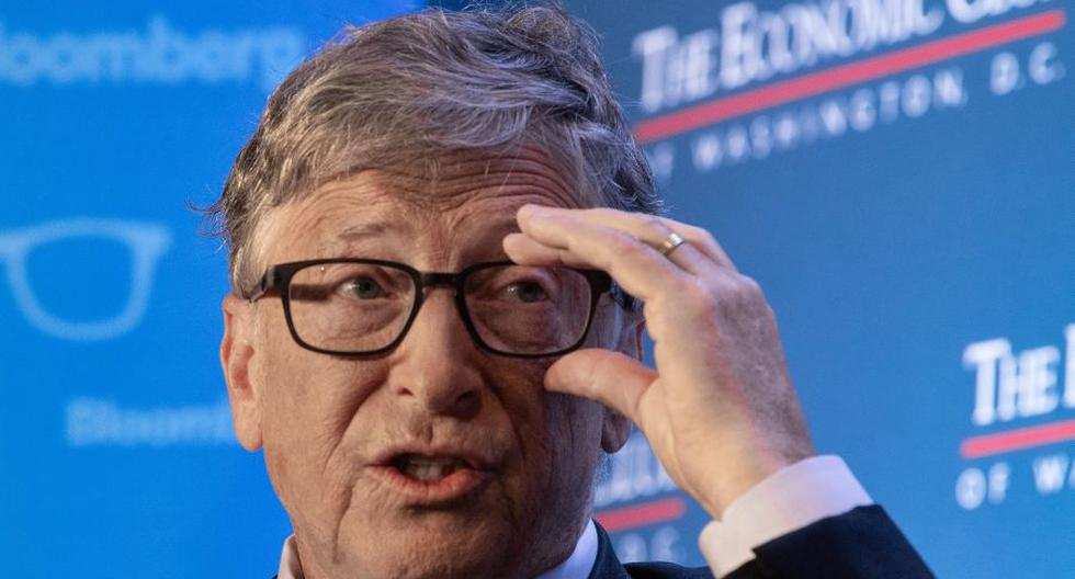 El multimillonario Bill Gates se manifestó en su blog sobre lo que puede suceder en los próximos años con el cambio climático. (Foto: NICHOLAS KAMM / AFP).