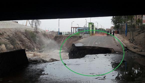 Río Rímac: ¿Qué pasará con el Puente Dueñas tras salida del río por incremento del caudal?