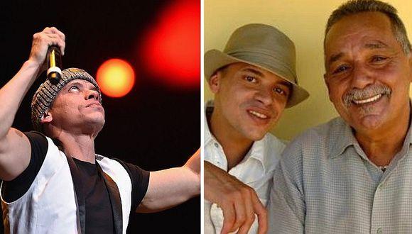Vico C: murió su padre a una semana de que el cantante fuera inducido al coma