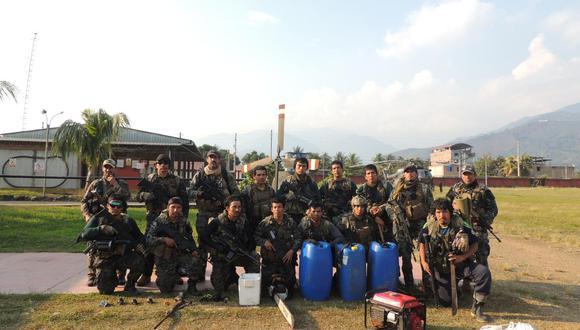 Vraem: Fuerzas Armadas y PNP hallan narco pistas, armamento y medicinas (Foto: CC.FF.AA)