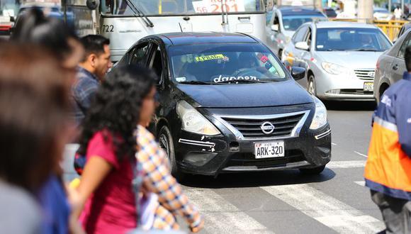 ACTU expresó su rechazo ante una posible formalización del servicio de taxis colectivos en Lima y Callao por parte del Ejecutivo. (Foto: GEC)