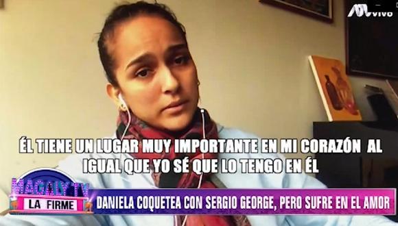 Daniela Darcourt pasa por una crisis en su relación sentimental. (Foto: Captura ATV)