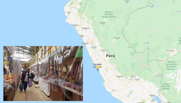 Los mercados son los principales focos de contagio del COVID-19. (Agencia Andina)