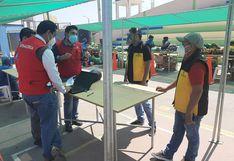 Lambayeque: realizaron supervisión de mercados temporales en Ferreñafe