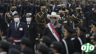 Pedro Castillo no fue reconocido como Jefe Supremo de las Fuerzas Armadas y PNP