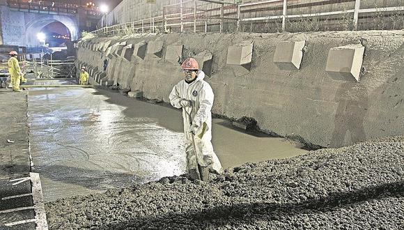 Túnel debajo del río Rímac tiene ¡93 filtraciones!