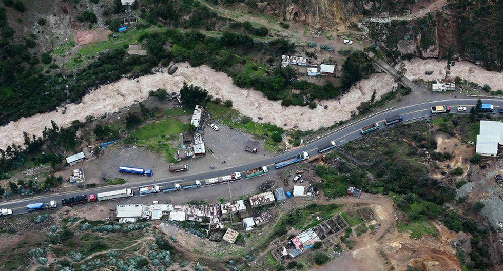 Carretera Central: Implementan puente aéreo por huaicos