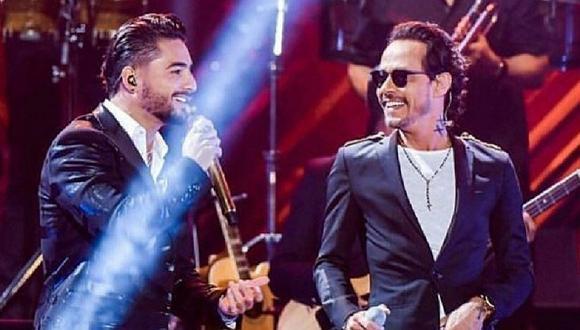 Maluma y Marc Anthony convierten 'Felices los 4' en salsa y es un hit (VIDEO)