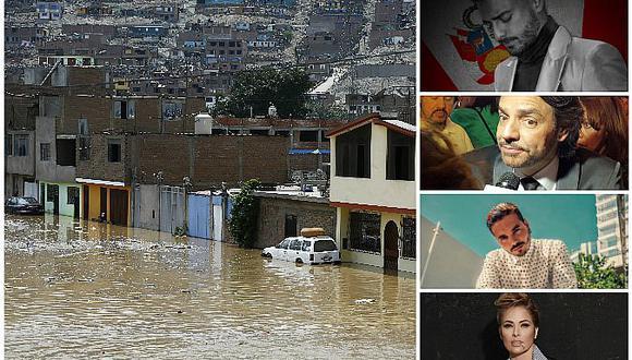 #FuezaPerú: estos artistas y cantantes internacionales rezan por damnificados