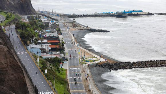 Los domingos, la evacuación de la vía se llevará a cabo media hora antes de la apertura de la Costa Verde y sus accesos. (Foto: Municipalidad de Lima)