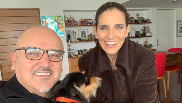 Entrevista a Beto Ortiz será emitida este lunes en el programa En Exclusiva (Foto: Instagram de Laura Borlini)