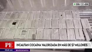 Policía Nacional incauta cocaína valorizada en más de $7 millones