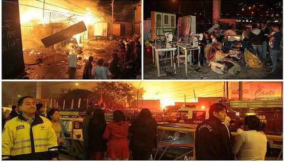 Comunidad Shipiba de Cantagallo: así de impactante fue el incendio que consumió todo (VIDEOS)