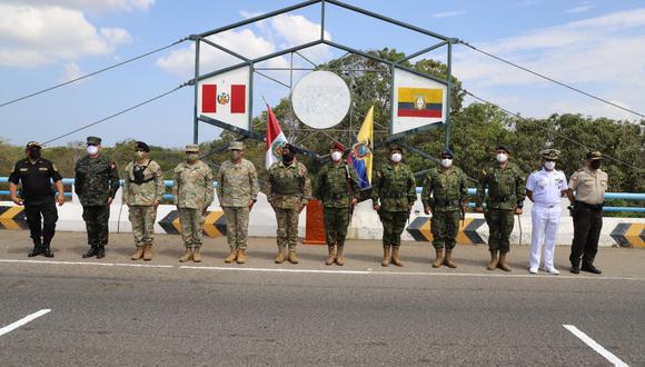 Tumbes: jefe del CCFFAA anuncia que frontera con Ecuador continuará cerrada (Foto: CCFFAA)