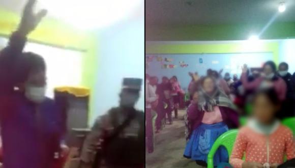 Huancayo: Pastor predicó durante intervención a 50 personas aglomeradas en culto religioso (Video: Facebook | Noticias Perú)
