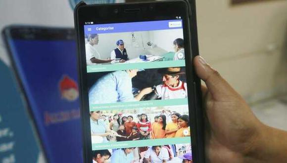 El Minsa informó que no se necesita contar con internet para ser usada en celulares o y tablets. (Foto: Minsa)