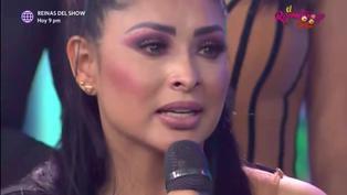 """Pamela Franco se quiebra durante entrevista con la Chola Chabuca: """"Todo lo que hago es por mi hija"""""""