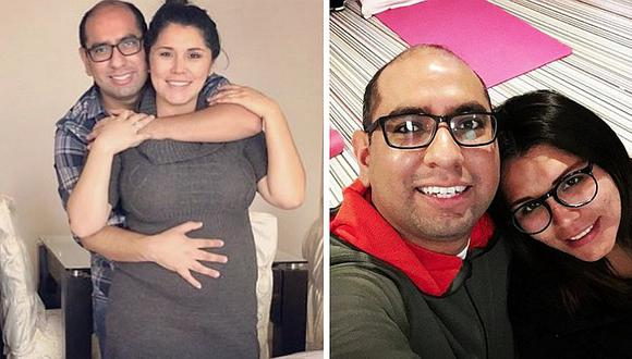 Lady Guillén: su pareja mostró la primera foto de su hermosa bebé