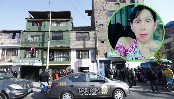 San Juan de Lurigancho: Asesinan a estilista Brenda Venegas en el interior de su casa  Fotos: Andrés Paredes