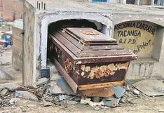 Cementerio de San Juan del Lurigancho está en el olvido: gente de mal vivir profana las tumbas