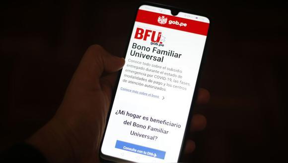 El cronograma del pago del segundo Bono Familiar Universal para nuevos usuarios de una Billetera digital serpa publicada en las próximas horas (Foto: GEC)