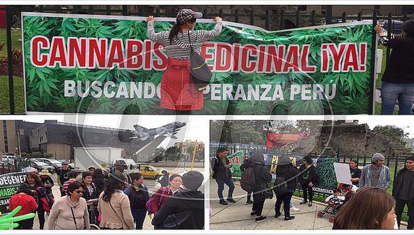 Aceite de cannabis: marchan a favor del uso medicinal de la marihuana (VIDEO)