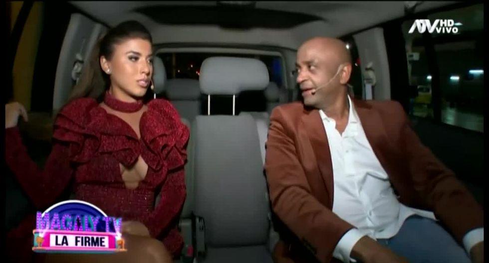 Yahaira Plasencia y Sergio George camino al programa de Magaly Medina | TROME