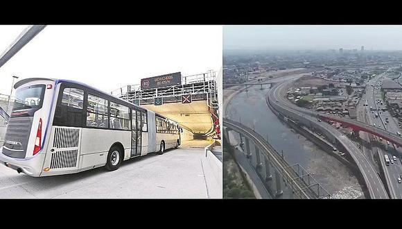 Lima tendrá nuevo servicio de transporte por debajo del río Rímac (FOTOS y VÍDEO)