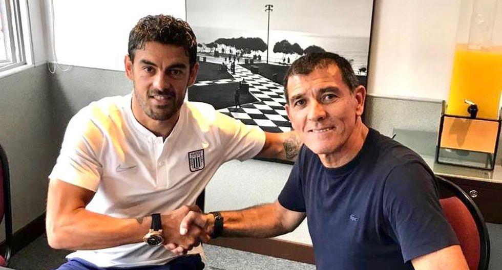 Luis Aguiar ya es de Alianza Lima.