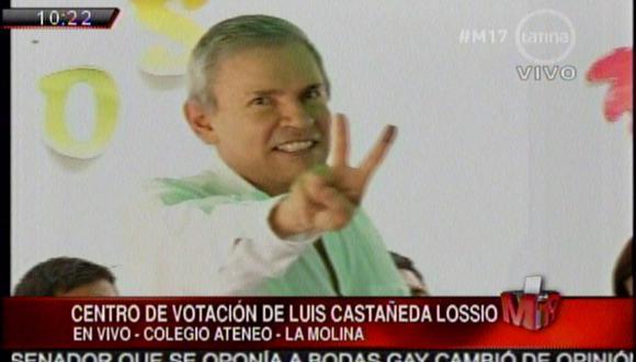 Denunciarán a Luis Castañeda por supuesta infracción de ley electoral