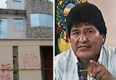 Bolivianos saquean casa de Evo Morales y por poco la incendian | VIDEO