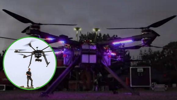 Empresa presenta dron hecho en Perú para búsqueda y rescate en zonas de desastres (VIDEO)