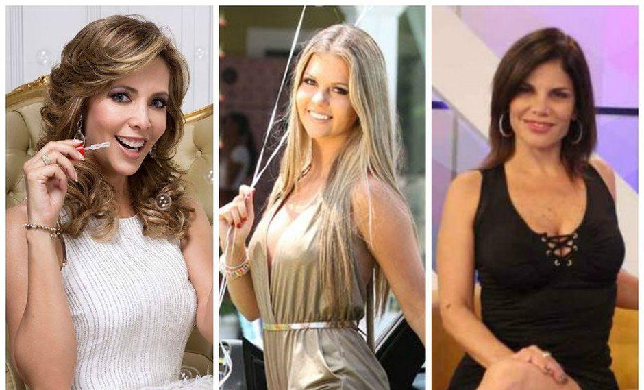 ¡Brunella Horna, Maritere Braschi y Sandra Arana también lucen regias usando vestidos Cóctel! [FOTOS]