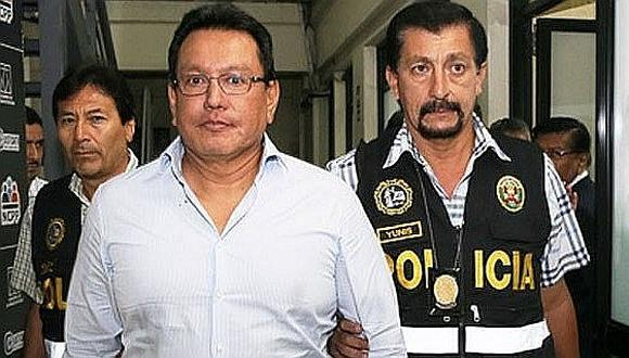 Félix Moreno: Ratifican 18 meses de prisión preventiva por lavado de activos